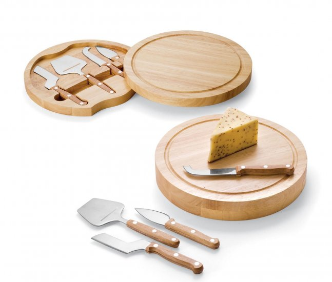 Circo - Cheese Board With Tools Round