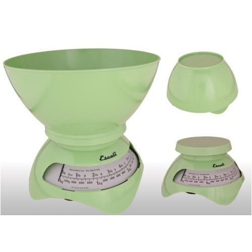 Escali Estilo Designer Dial Kitchen Scale Apple Green