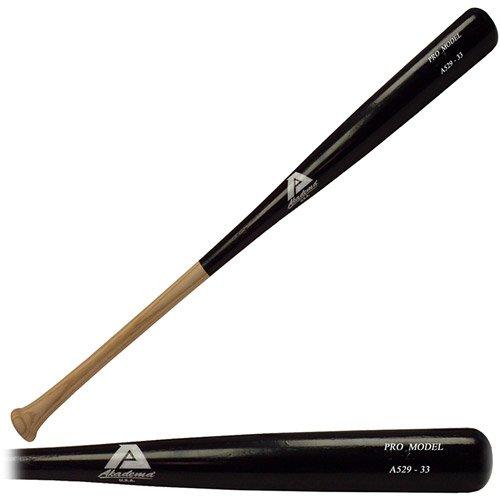 Akadema A529-33 Elite Professional Grade Adult Amish Wood Baseball Bat 33 Inch