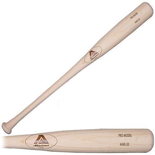 Akadema A543 Elite Professional Grade Adult Amish Wood Baseball Bat 32 Inch