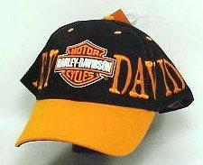 Harley Davidson Premium Biker Hat SHD425 Harley Jumbo Orange - HATHD09472