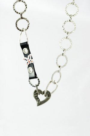 """Necklace """"Heart of love�"""