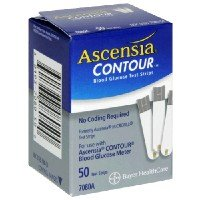 Ascensia Contour Test Strip 50/Box