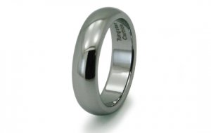 R10003 Tungsten Carbide Classic Dome Wedding Band