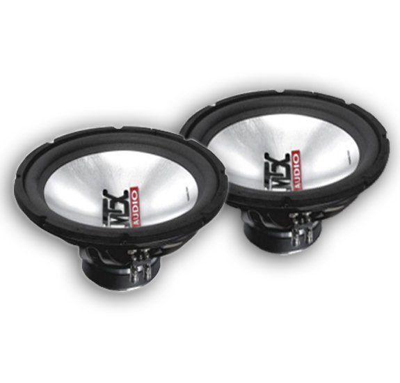 New Pair  MTX T4510-04 10 inch Subwoofers
