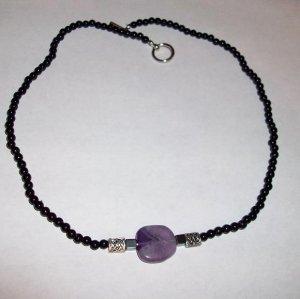 Amethyst Celtic Knot Necklace