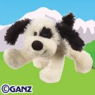 Black & White Cheeky Dog Webkinz