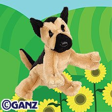 German Shepherd Webkinz