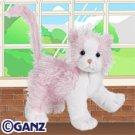 Pink & White Cat Webkinz