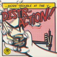 "Distraction ""More Trouble at the V"" 12"" *cream vinyl*"