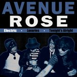 "Avenue Rose ""Electric"" 7-inch *clear pink vinyl*"