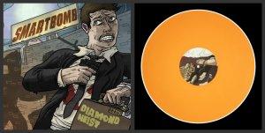 """Smartbomb """"Diamond Heist"""" LP *Solid Orange Vinyl*"""