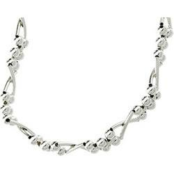 Sterling Silver Stretch Bracelet Pat - 7.25 inches