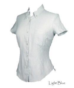 Womens Short Sleeve Linen Shirt