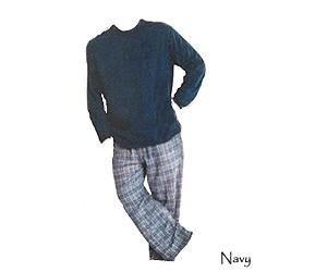 Mens 2 Piece Sleepwear Pajama Set