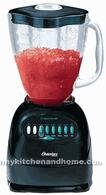 12 SPEED GLASS JAR BLENDER BLACK