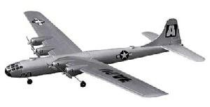 4-Engine Radio Control Super Fortress B-29 Bomber