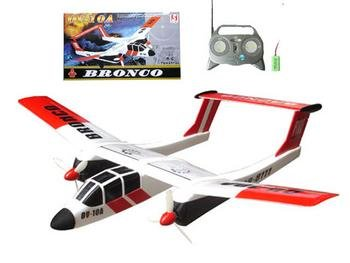 Remote Control Bronco Airplane Rc Ready To Fly