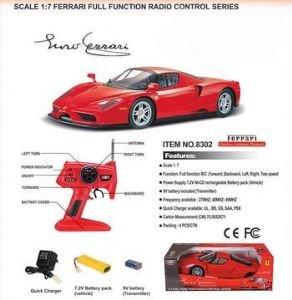 Remote Control Ferrari Enzo Red 1/7 Scale Rc