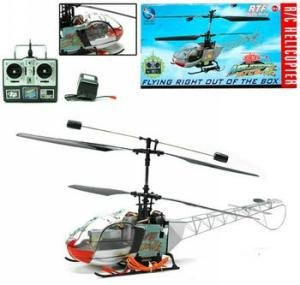 Remote Control 4 Channel Rc Heicopter Ready To Fly