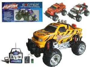Remote Control Offroad Monster Truck Rc Ready To Run
