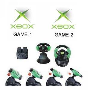 Xbox Racing Bundle - 2 Games Plus 1 Wheel