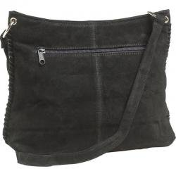 Maxam® Brand Genuine Suede Leather Ladies' Shoulder Bag