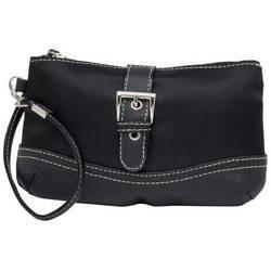 Embassy� Black Wristlet Bag