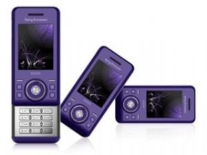 Sony Ericsson S500 Ice Purple Phone Quad Band (gsm Unlocked)