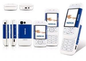Nokia 5200 Blue Triband Unlocked Gsm Phone