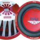 Pyle 12 2000 Watt Red Aluminum Cone Die-Cast Subwoofer