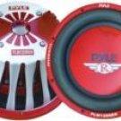 Pyle 12 2000 Watt Red Aluminum Cone Die-Cast Subwoofer