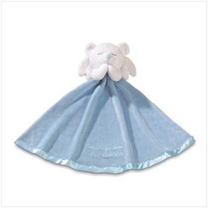 Boy Angel Bear with Blanket