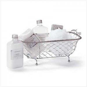 Coconut Milk Bath Set/Bathtub