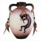So. West Paint Jug Vase With Handles