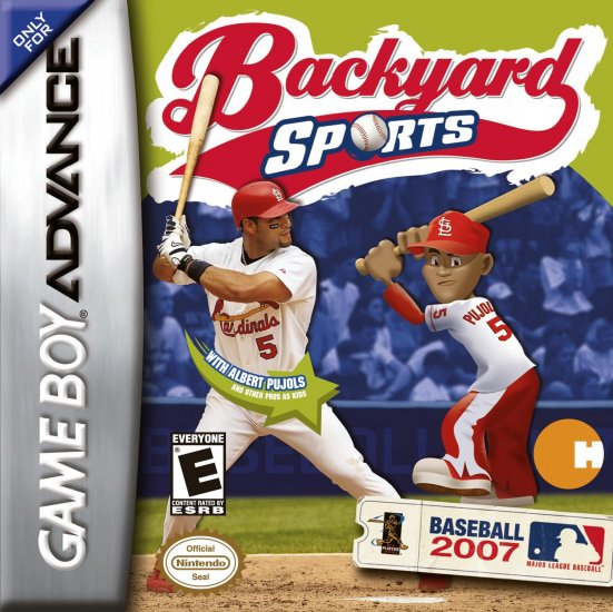 BACKYARD BASEBALL 2007 GBA