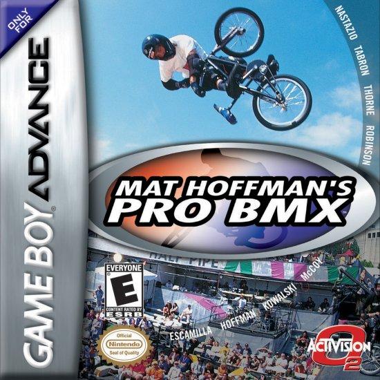 Mat Hoffman Pro BMX - GBA