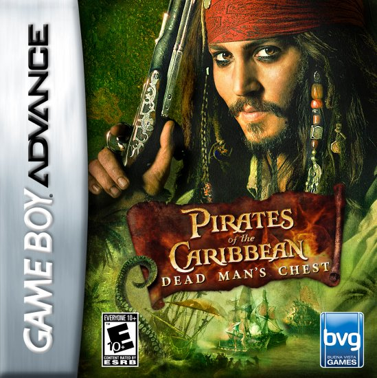 PIRATES CARB DEAD MANS - GBA