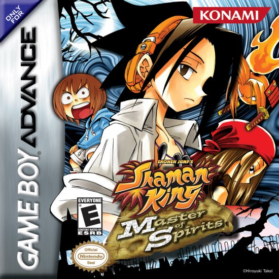 Shaman King Master Of Spirit - GBA