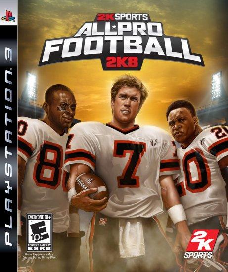 PS3-ALL PRO FOOTBALL 2K8
