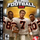 PS3-ALL PRO FOOTBALL 2K8