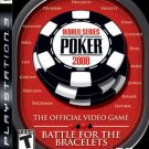 PS3-WORLD SERIES OF POKER 2008