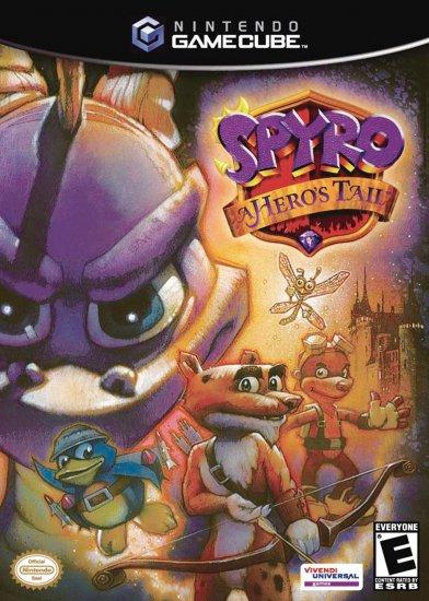 Spyro A Heros Tail - GC