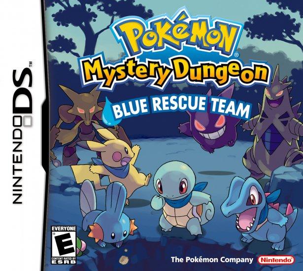 Pokemon MD: Blue Rescue Team