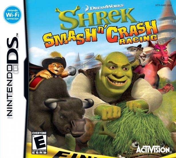 SHREK SMASH N CRASH RACING NDS