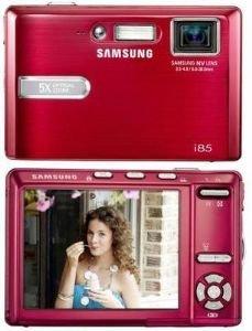 8.2 Mp Digital Camera Red