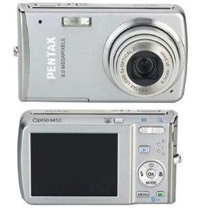 8mp Optio M50 Camera Silver