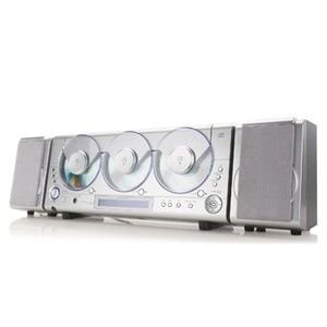 Coby Cx3cd620 3-Cd Digital Am And Fm Mini Audio System