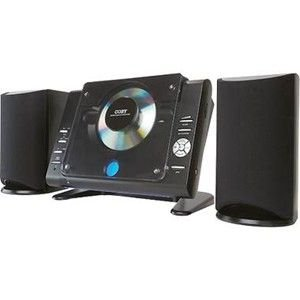 Coby Cxcd377-Bk Stereo Desktop Mini Audio System