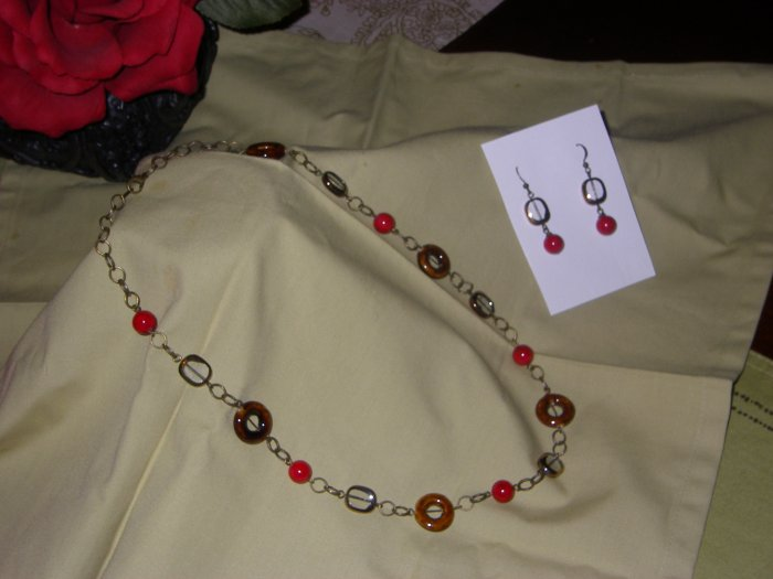 fall collection necklace set